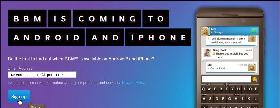 Cara Instal BBM di android smartphone dengan Cepat