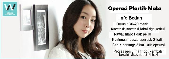 Operasi Plastik Mata di Klinik Operasi Plastik Wonjin