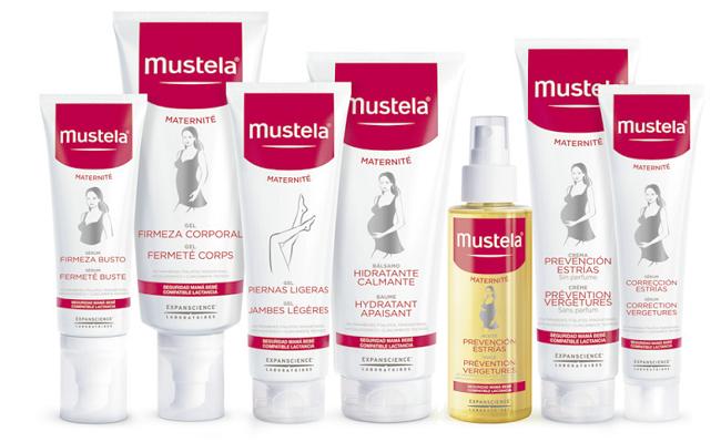 Nueva gama cosmética mustela maternidad