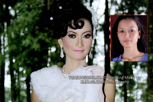 Sample Wedding Bridal by Tunjungbiru Wedding Make Up Purwokerto [ TUNJUNGBIRU.CO.ID ]  | Photo by KlikMG Photography Purwokerto [ KLIKMG.COM ]