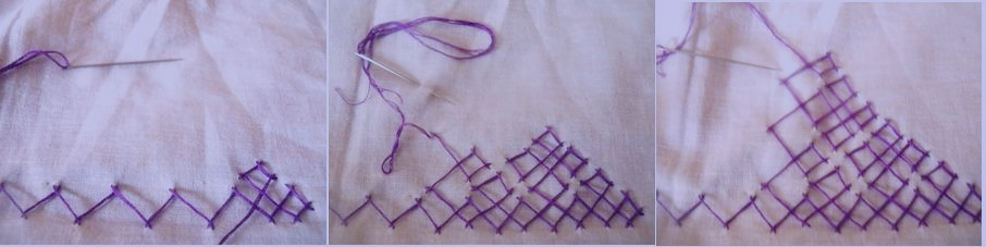 Abhivyaktiya how to do sindhi embroidery