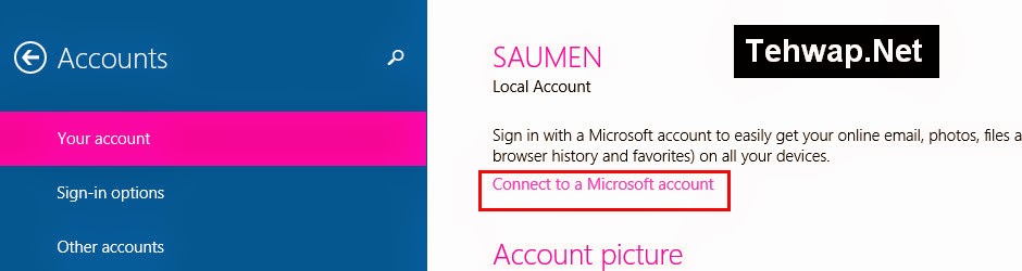 How To add/Create a Microsoft Account For Windows 8.1