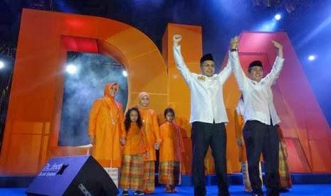 Pasangan DIA Terpilih Jadi Walikota Makassar
