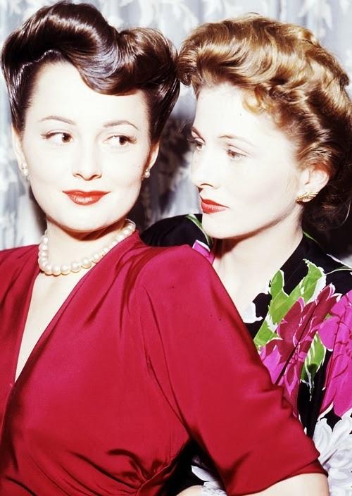 Adored Vintage Monday Muses Olivia De Havilland And Joan