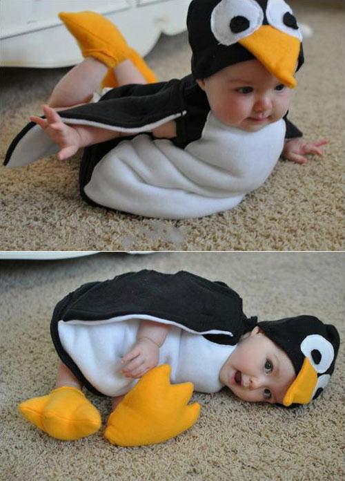 Baby Penguin Halloween Costume