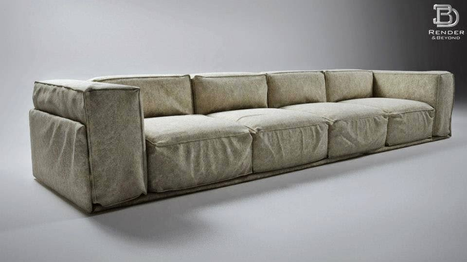 Download HERE The Free Vrayforc4d Sofa Model