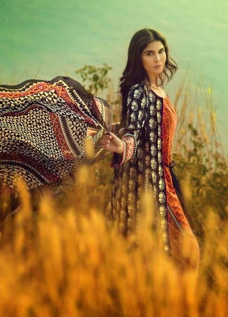 Sana Safinaz Summer Lawn 2015 Collection