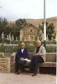 Mi madre Rufina en Arapa - Puno, junto al P. Marcos Degen Dublin.