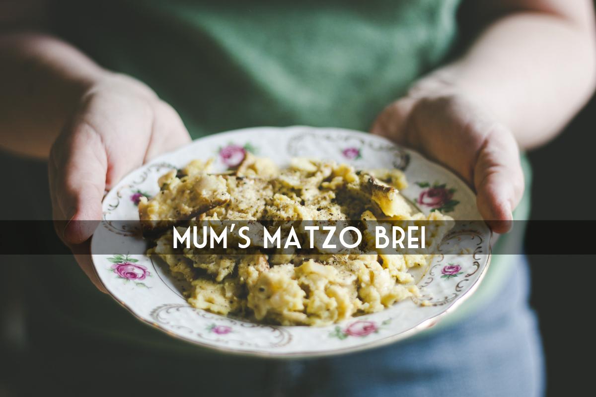 RECIPE: MATZO BREI - my name is yeh