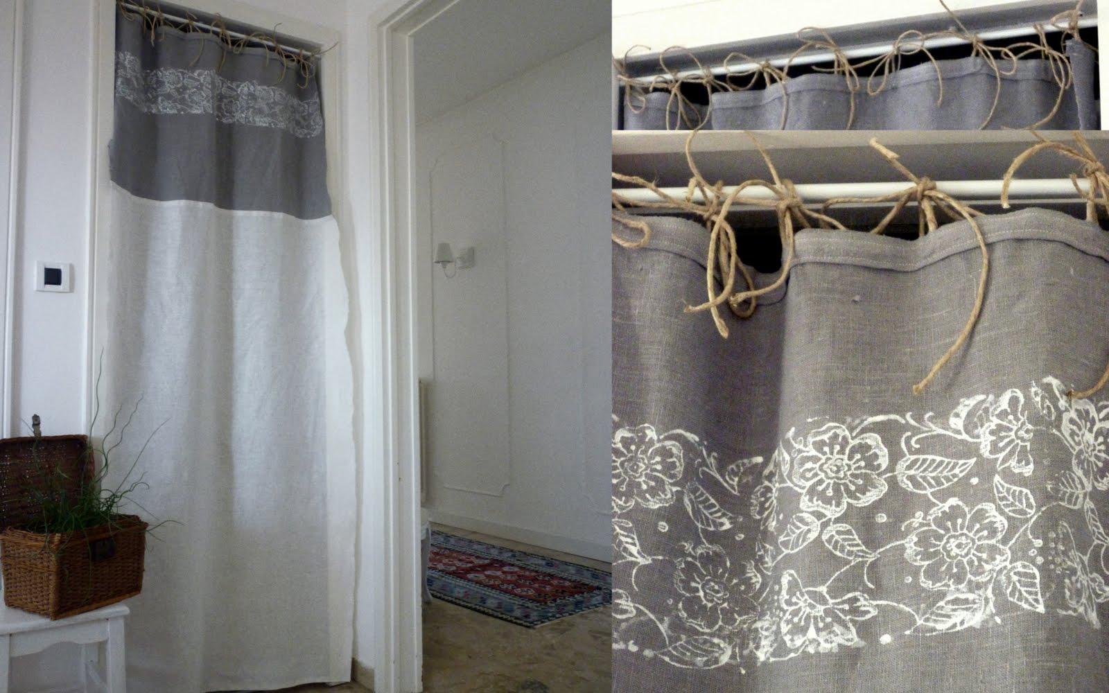 Le bianche margherite linen curtains - Tenda a rullo ikea ...