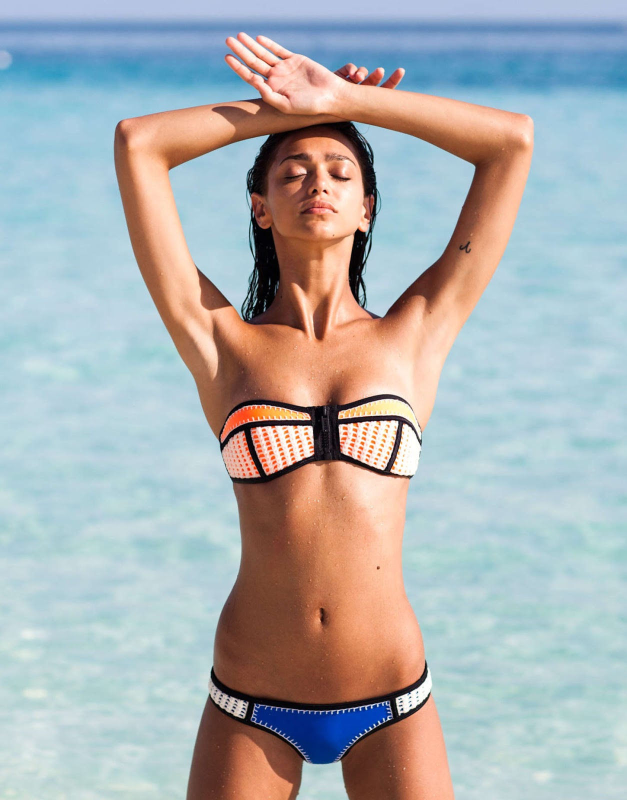Zhenya Katava – Triangl Swimwear Photoshoot 2015