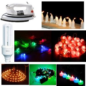 Amazon: Buy Bajaj DHX 9 Iron Rs.649, Havells Retrofit 23w CFL Rs. 349 ,Tucasa Diwali Lights from Rs. 120
