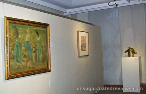 art collection paintings and sculpture