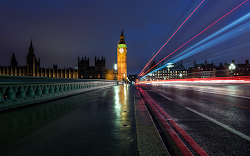 An Award-winning shot of Westminster Bridge with Big Ben looming ahead