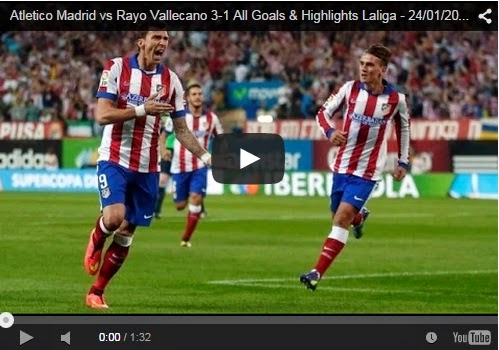 Highlights Liga Spanyol : Atletico Madrid 3-1 Rayo Vallecano