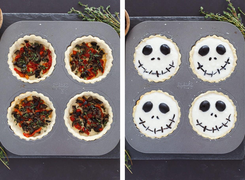 http://www.snixykitchen.com/2014/10/27/halloween-jack-skellington-ricotta-olive-tarts/