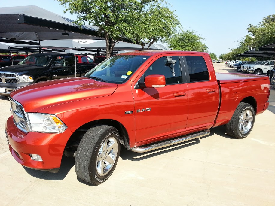 for sale 2009 dodge ram 1500 pickup truck quad cab sunburst orange. Cars Review. Best American Auto & Cars Review