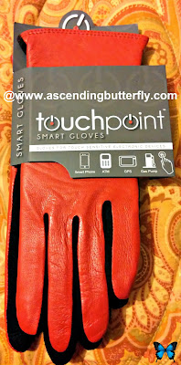Wilsons Leather touchpoint smart leather red Gloves