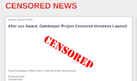 After giving us an award, Project Censored wants to sue us, thinks it owns words 'censored news'