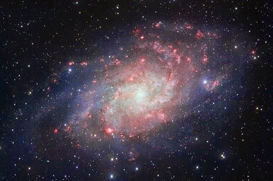 la galaxia del triangulo