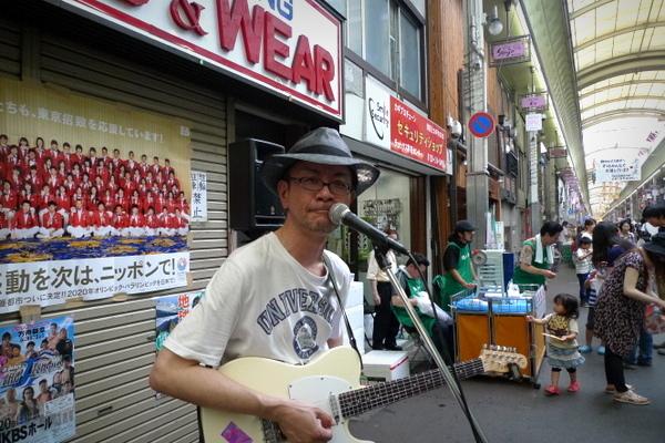 三条会商店街七夕祭りライブ6