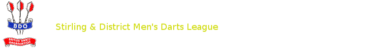 Stirling & District Men's Darts League