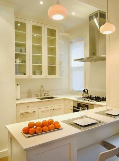 dapur mungil dengan gaya luar biasa rumah idamanku