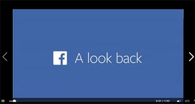 Facebook Look Back on their 10th year Anniversary