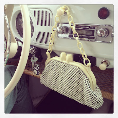 Винтажная сумочка 50-х годов