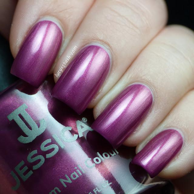 Jessica Foxy Roxy nail polish