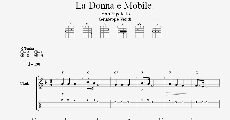 analysis la donna é mobile Nancy littens' arrangement of verdi's la donna è mobile sits very comfortably  the syncopated nature of bars 11, 16 and 19 will need careful analysis and.
