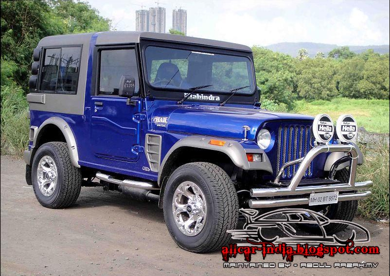 AUTOMOTIVE CRAZE: A Good Modification of Mahindra THAR
