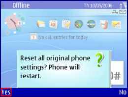 How to Restoring Nokia Original Settings