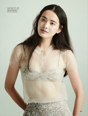 Li Wei HQ Pictures Glamour France Magazine Photoshoot March 2014