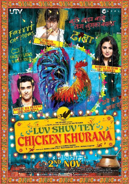 Poster of Luv Shuv Tey Chicken Khurana 2012 720p BluRay Hindi