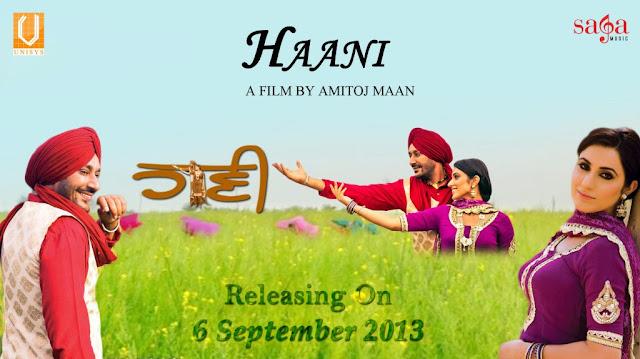 Haani 2013 DVDRip 700mb Punjabi Movie