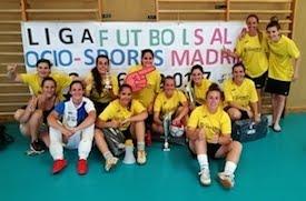 Sotillo de la Adrada, campeón de la copa femenina de fútbol sala
