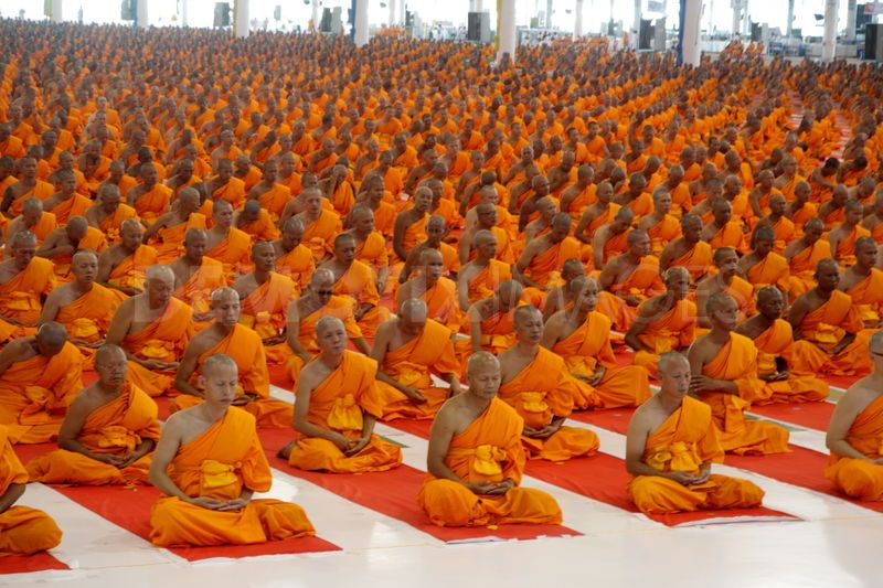 Buddha Space Thai Buddhism Meditate