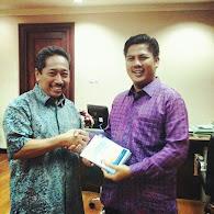 Direktur Pendidikan Diniyah dan Pondok Pesantren Kemenag Republik Indonesia  DR.H.Mohsen, MM