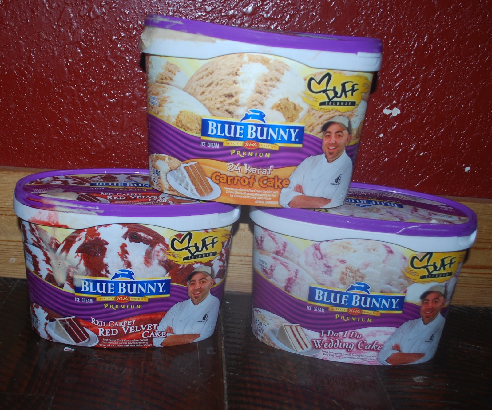 The Thrifty Deafies Safeway Duff Blue Bunny Icecream Tubs Only