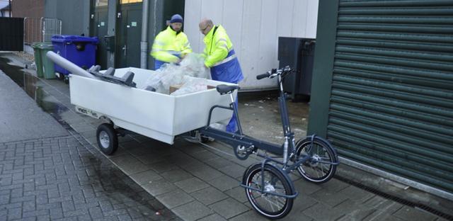 Cargo bikes para serviços de coleta e entrega