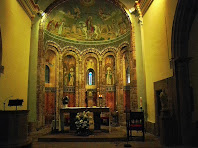 Interior de Sant Martí del Brull