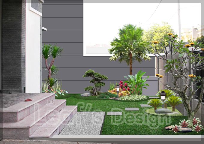 Di bawah saya tampilkan beberapa contoh taman rumah minimalis, semoga ...