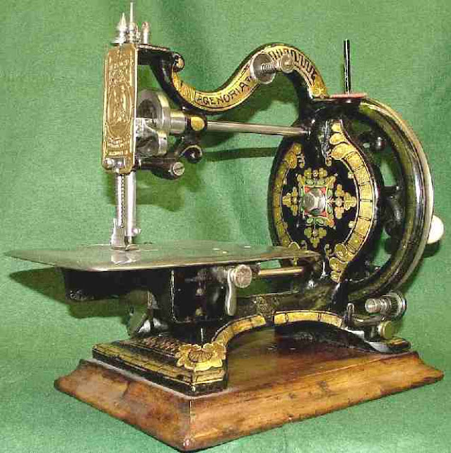 sewing machine agenoria maxfield Interesting and Miscellaneous