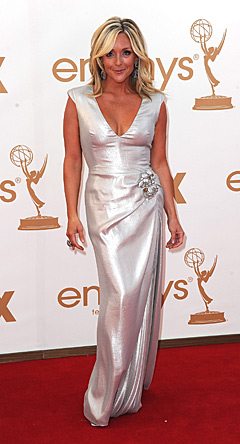 And Speaking Of Too Tan, What The Hell Happened To Jane Krakowski? Did