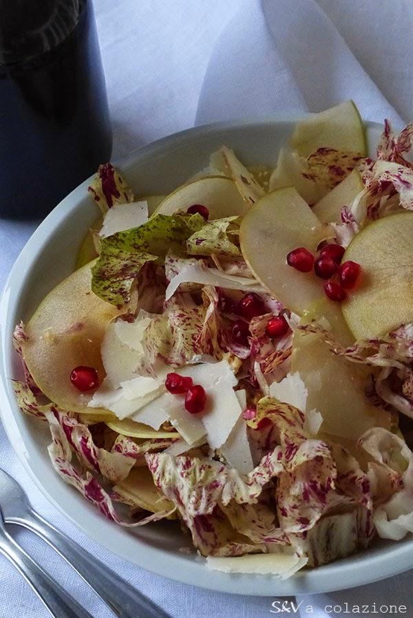 Insalata di radicchio variegato di Castelfranco