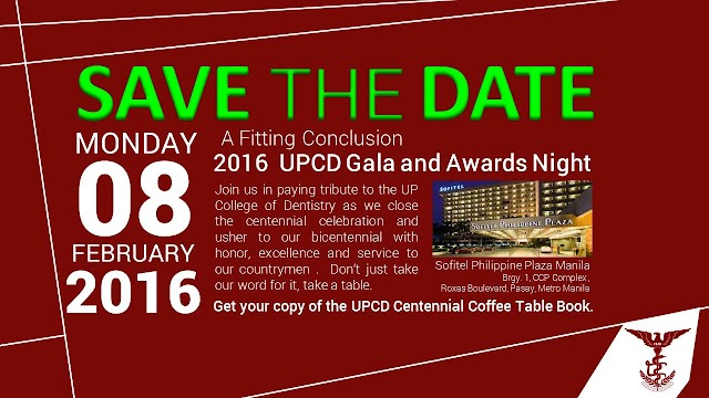 2016 UPCD Gala and Awards Night