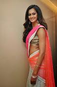 Shubra Aiyappa glamorous in half saree-thumbnail-10