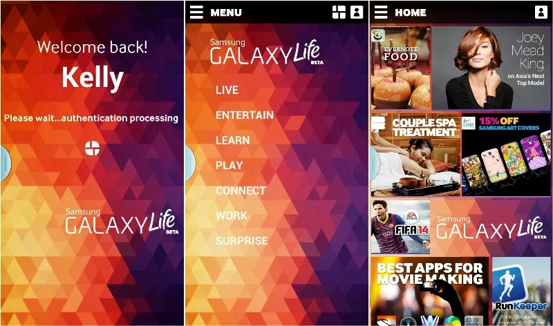 Samsung GALAXY Life App, Enriching your Life, GALAXY Life, samsung, samsung galaxy life launch