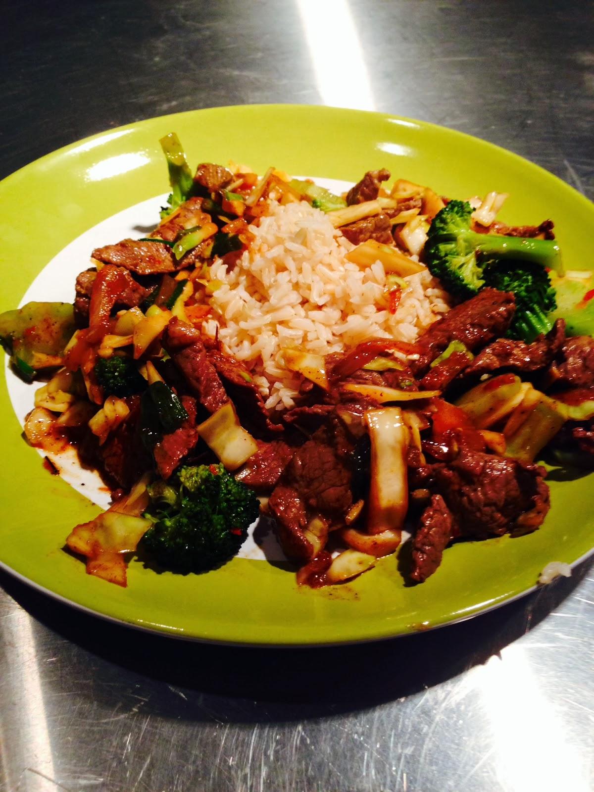 Weeknight Wonders by Ellie Krieger: Korean beef and broccoli stir-fry
